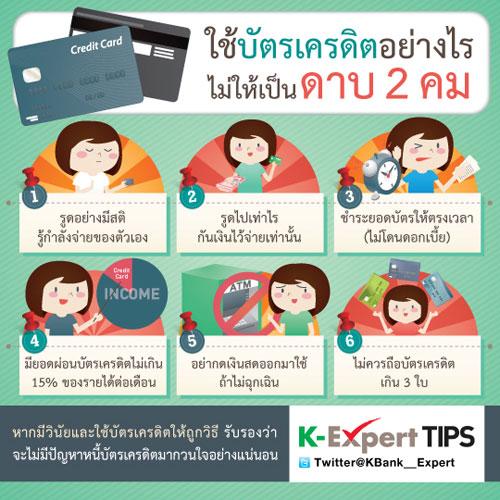 ควรใช้บัตรเครดิตอย่างไร?